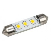 Автолампа ARL-F37-3E White (10-30V, 3 LED 2835)
